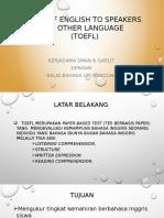 PPT TOEFL