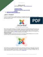 Sistema Gestion Contenidos Joomla