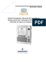 Manual - Controlador para refrigeración comercial. Emerson