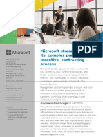 Icertis Contract Management Software helps Microsoft to simplify its complex Partner-Incentive Contracting Process