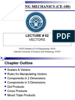 Lecture 02 - Vectors