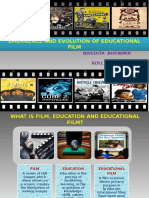 Emergence and Evolution of Educational Film