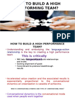 How to Build a High Performing Team