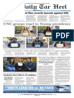 The Daily Tar Heel for Nov. 22, 2016