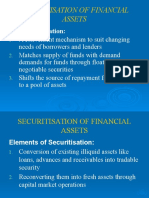 Securitisation of Financial Assets