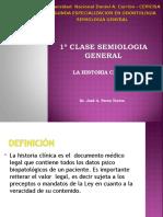 1-¦-CLASE-SEMIOLOGIA-HISTORIA-Y-EXAMEN-CLINICO-SEGUNDA-ESPECIALIDAD-ODONTOLOGIA-UNDAC-CEPICISA