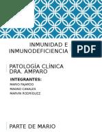 Inmunidad e Inmunodeficiencia