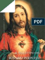 Il Bolletino Del Rosario Perpetuo n.1, Agosto 2010