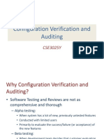Configuration Auditing