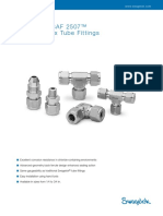 Gaugeable SAF 2507™ Super Duplex Tube Fittings, (MS-01-174, R5)