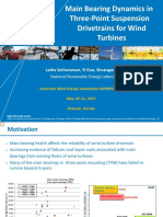 Main Bearing Dynamics in Wind Turbine
