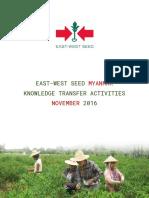 EWMM Knowledge Transfer Activities Nov 2016