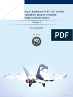 "Draft EIS for EA-18G ""Growler"" Airfield Operations at Naval Air Station (NAS) Whidbey Island Complex Volume II"