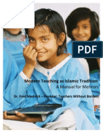 Modern Teaching as Islamic Tradition