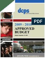 Duval County Public Schools 2009-2010 Budget