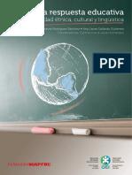 La respuesta educativa a la diversidad étnica, cultural y lingüística