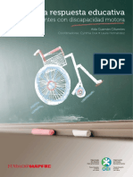 La respuesta educativa a los estudiantes con discapacidad motora