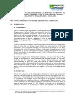 07.0 Conclusiones Del Estudio de Hidrologia y Drenaje
