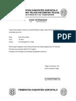 Surat Keterangan Pengobatan Jama Haji