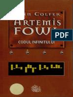 Eoin Colfer Codul Infinitului