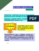 Resumo Marketing Para Sec XXI