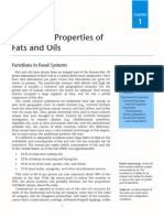 Functional Properties of Oils Fats