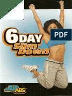 6 Day Slim Down.pdf