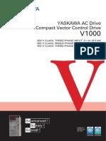 Yaskawa V1000 Catalog
