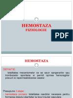 Martie 2016 Teste de Hemostaza Studenti (1)