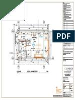1.05.39 Hotel Room Type c Plan Layout