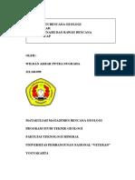 Wildan Akbar Putra Nugraha. 111140098. Pantai Daerah Rawan Bencana Tsunami Kab. Cilacap