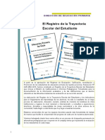 Documento - Trayectoria Escolar