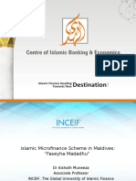 Alhuda cibe -Islamic Microfinance in Maldives
