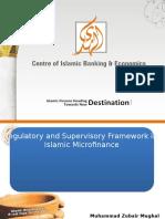 Alhuda cibe -Legal and Regulatory Framework of Islamic Microfinance