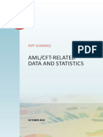 AML CFT Related Data and Statistics