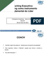 Coaching Executivo - Coaching Como Instrumento Fundamental Do Líder