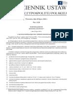 Rozporzadzenie Ministra Rozwoju z Dnia 26 Lipca 2016 r. w Sprawie Protokolu Postepowania o Udzielenie Zamowienia Publicznego Dz. U. z 2016 r., Poz. 1128