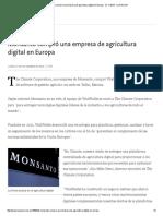 Monsanto compró una empresa de agricultura digital en Europa - 21.11.pdf