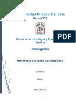 Monografia de Cartilago