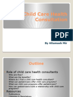 Child Care Health Consultation by Altamash Mir