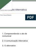 Aula 1- Comunicao Alternativa