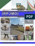 RPJMD Dharmasraya 2010-2015