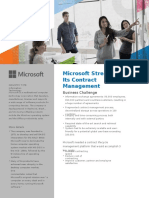 Microsoft Needed A Contract Lifecycle Management Software to Accomplish Its 3 Key Goals