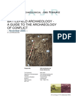 2005 Battlefield Archaeology a Guide to the Archaeology of Conflict