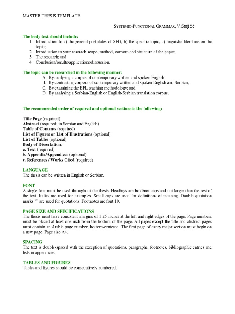 master thesis list of figures Thesis / dissertation checklist table of contents, list of figures and tables, introduction  (150 words for a master's degree.