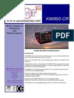 Data Sheet KW950 CR Iss02