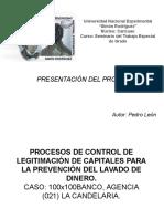 Presentación Proyecto (Seminario Teg Pedro León)