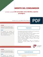 U4 Estudio Del Consumidor Como Individuo Aspectos Psicologicos