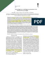 Epistemología y Ontologia de La Ecología