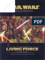 Star Wars RPG D20 Old - Living Force Campaign Guide